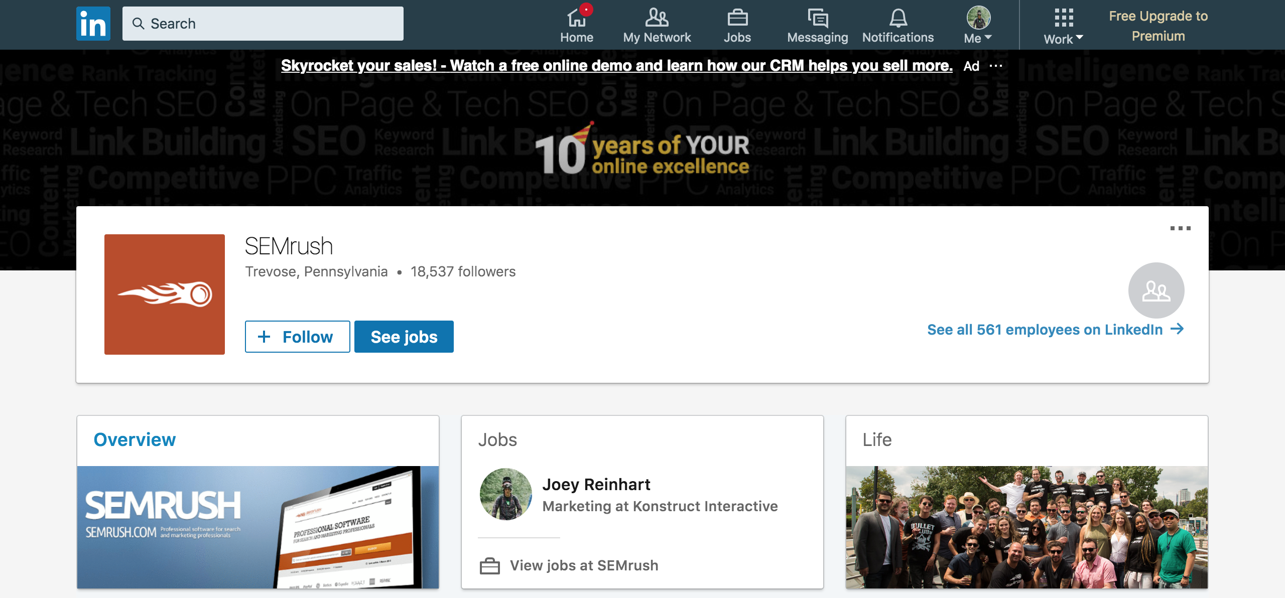How to use LinkedIn Pages for Companies   Konstruct Digital