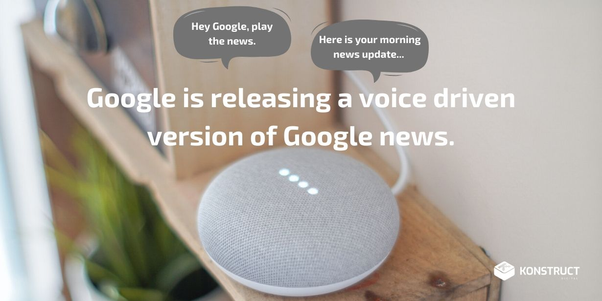 Google is Releasing a Voice-Driven Version of Google news