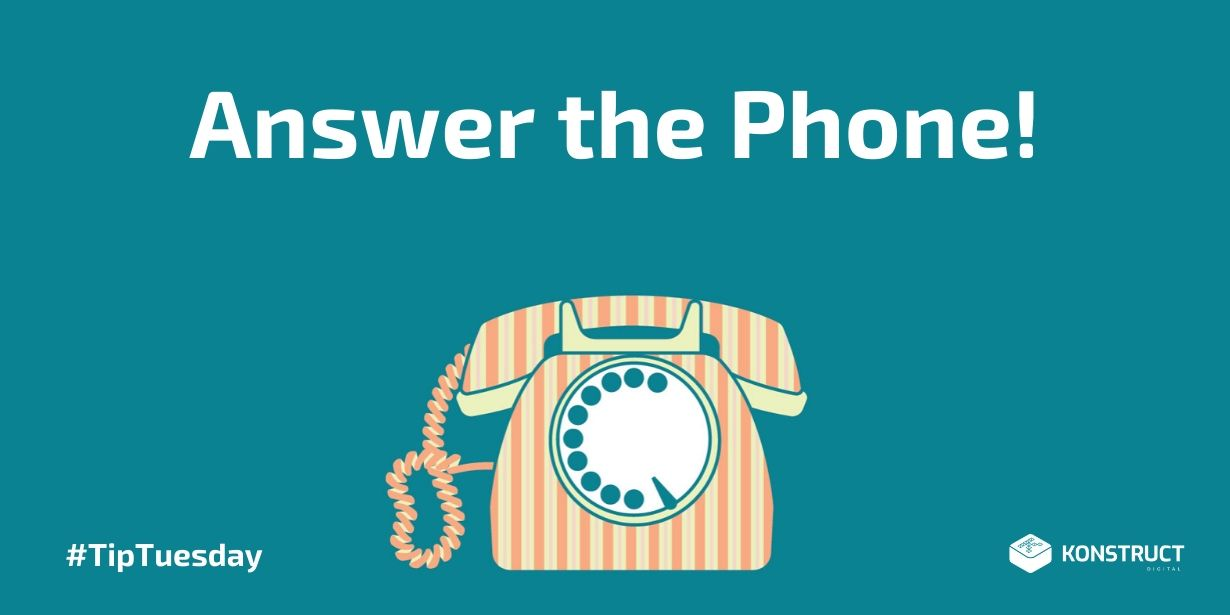 Answer the Phone!