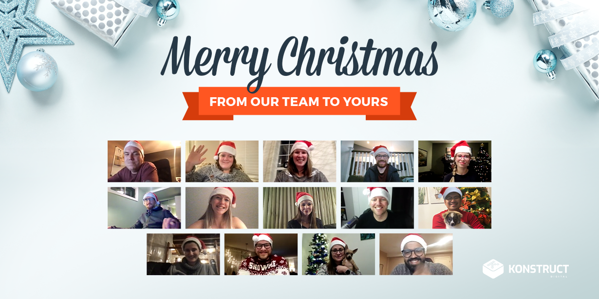 Merry Christmas from our team to yours